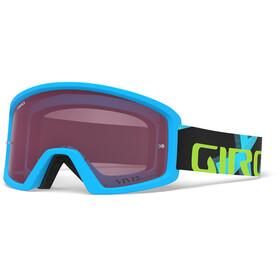 Giro Blok MTB - Masque - turquoise/Multicolore